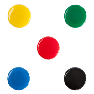 30mm Colorful Strong Magnetic White Board Buttons