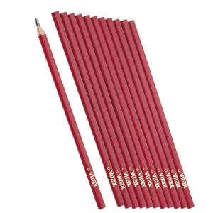 Customized 10inch square paint carpenter pencil