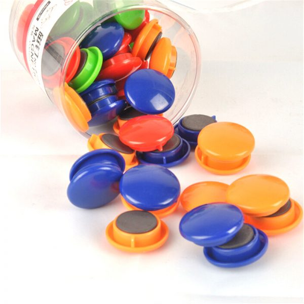 30mm Round whiteboard magnetic button