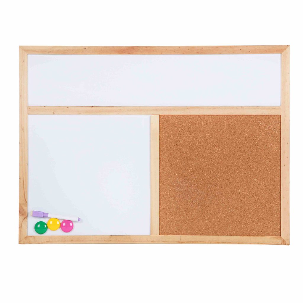Combination Cork And Dry Erase Board|Dry Erase Combination