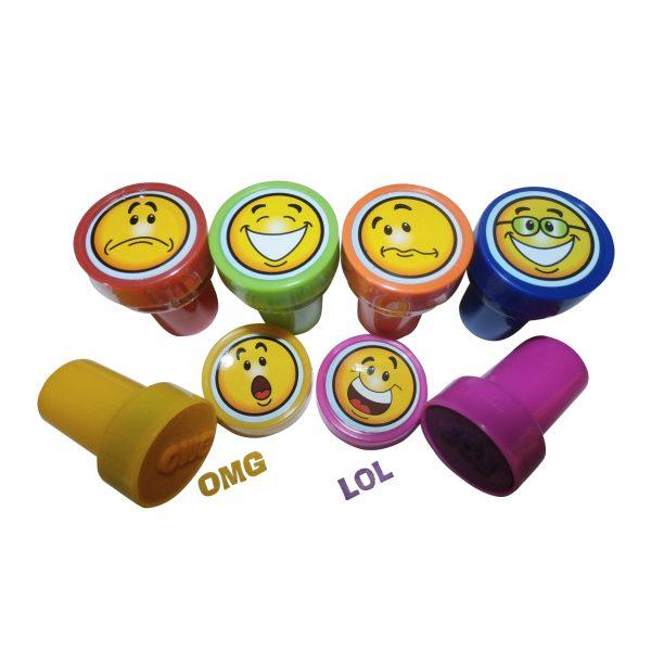 Round Children's Toy Stamp set
