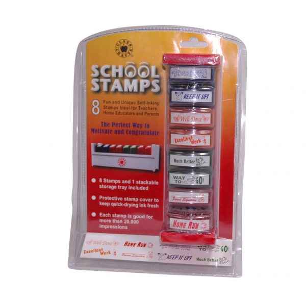 Self-Inking Teachers Review Stamps