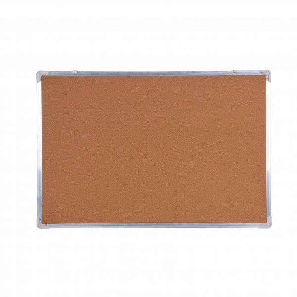 Aluminum Push Pin Cork Bulletin Board