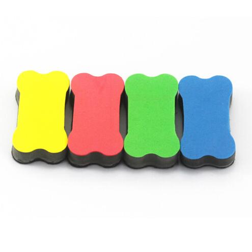 Bone Shape Magnetic Dry-Wipe Cleaner Eraser