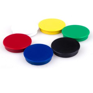 Color Plastic Magnet Button For Whiteboard