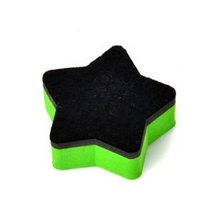 Star Shape Magnetic Whiteboard Eraser