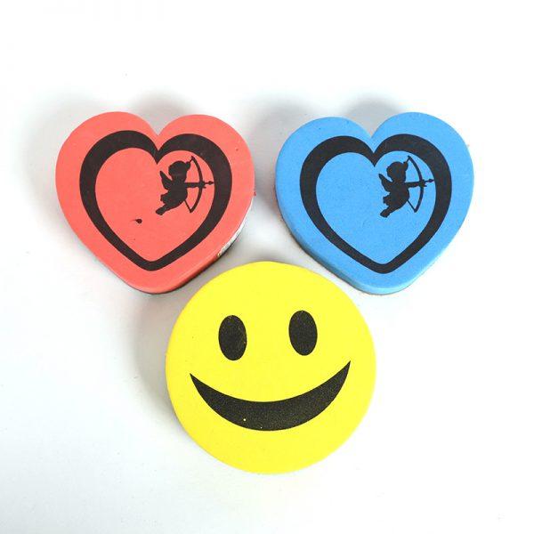 Heart Shape Whiteboard Eraser