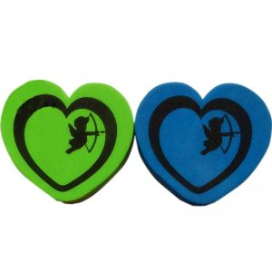 Magnetic Whiteboard Eraser Dry Eraser Heart Shape (1)