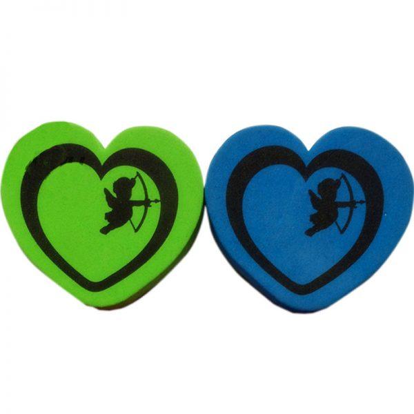 Magnetic Whiteboard Eraser Dry Eraser Heart Shape (1)