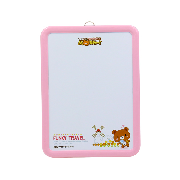 1Pc Yellow Smile Face Whiteboard Eraser Magnetic Board