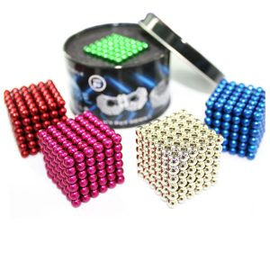 Buckyball Silver Magnetic Balls