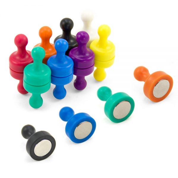 Rainbow Skittle Magnets