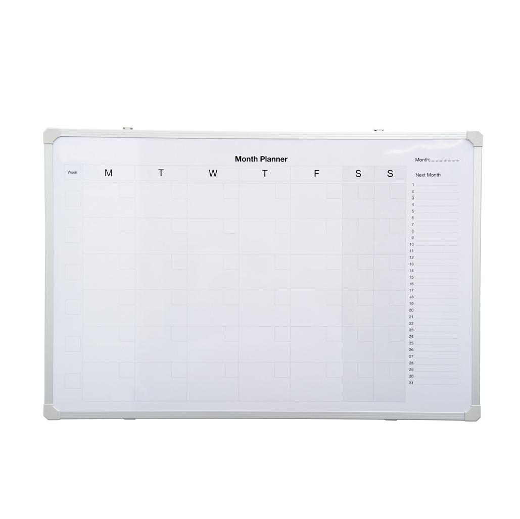 Monthly Planner Magnetic Whiteboard Joshen Stationery