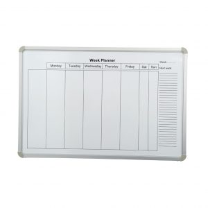 Weekly Planner Magnetic Whiteboard
