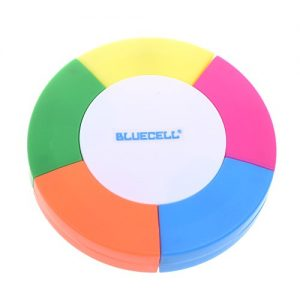 Round Shaped Multi Colors Liner Highlighter