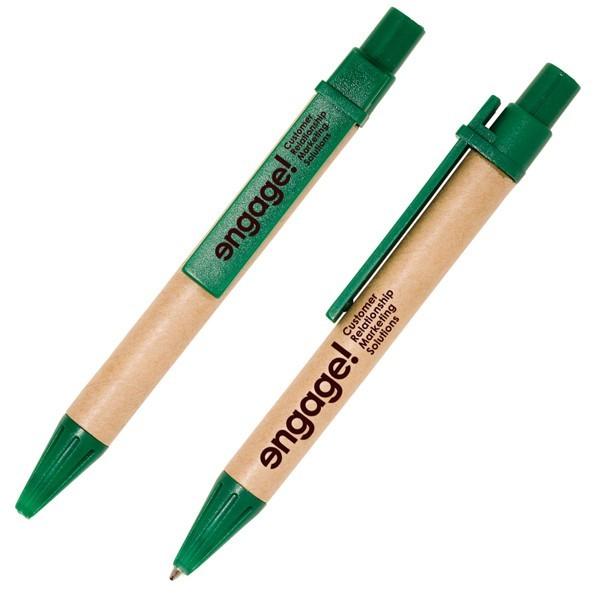 Eco-Friendly Promotional Mini Biodegradable Paper Barrel Pens-Joshen Stationery