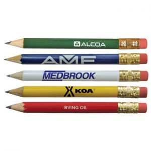 Personalized Golf Pencils Hotel Pencils