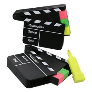 Film Clapper Board Highlighter Pen