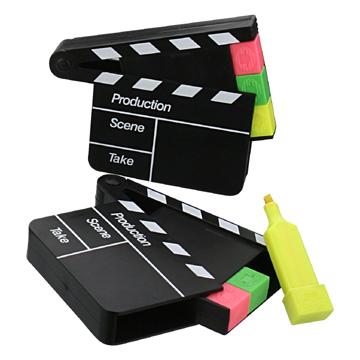 Film Clapper Board Highlighter Pen