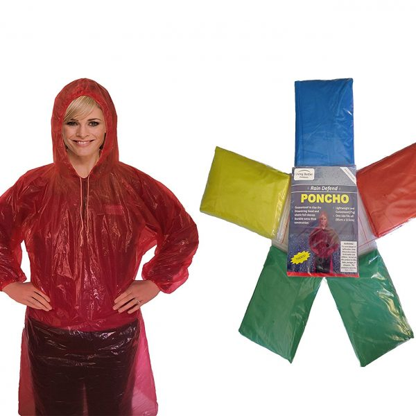 Rain Poncho For Adults | Adult Poncho | Disposable Rain Poncho