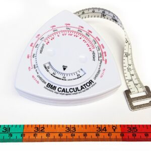 BMI Body Mass Index Tape Measure Calculator