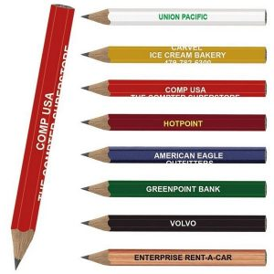 Promotional Marketing Golf Pencils