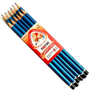 Hexagon Wooden HB Pencil With Eraser