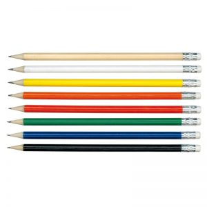 Promotional HB Pencil with Rubber Eraser