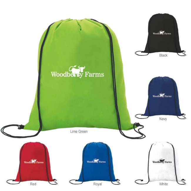 8a612b3fb34b Custom Non-Woven Drawstring Backpacks